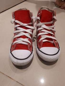 Zapatillas Converse Impecables Talle 34