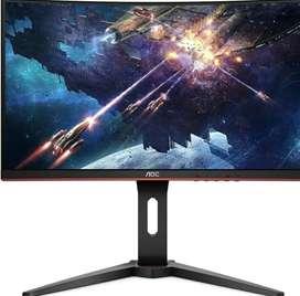 Monitor Gaming Aoc C24g1 24 144hz Curvo 1080p
