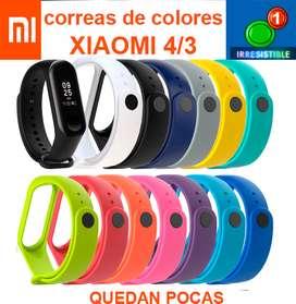 Correas de respuesto  coloridos para Xiaomi mi band 4