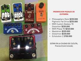 Promocion Pedales Guitarra