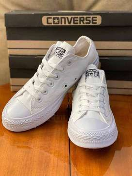 converse zapato bota tenis calzado en cuero