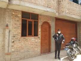 Vendo una casa de tres pisos, ubicado el el barrio Mollepampa - Cajamarca. (Por motivos de salud)