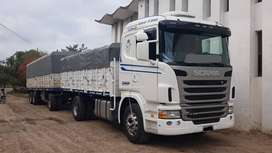 SCANIA UNICO G 340 2010- LARGO CON CARROCERIA