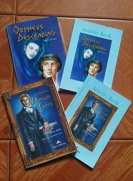 "LIBROS DE LECTURA ""ORPHEUS DESCENDING"" y ""THE PORTRAIT OF DORIAN GRAY"""