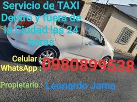 Servicio de taxi dentro y fuera de la ciudad 24 horas