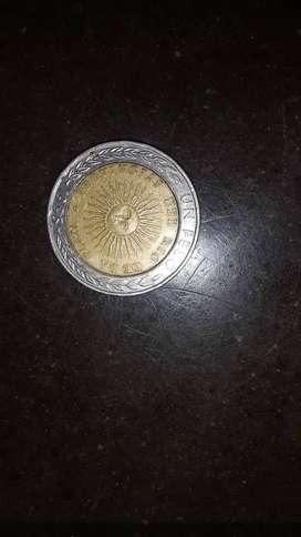 Moneda  1$ con error 1995