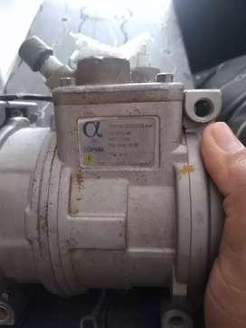 Compresor de aire para retroescabadora