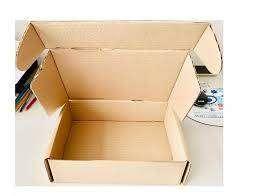 Caja De Carton Corrugado Autoarmable de 4 Ml. X 6  Unidades