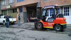 Servicio de montacargas de 1 a 5 toneladas