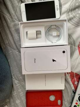 iPhone 8 64 Gb Blanco, Con Caja.