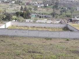 Vendo Terreno de 1200m2 en Mitad del Mundo Sector Rumicucho con Cerramiento