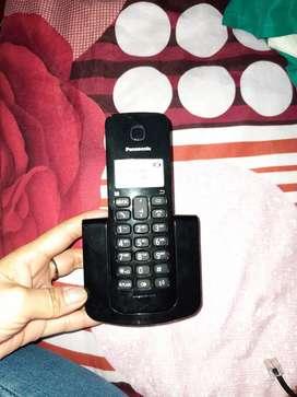 Se vende teléfono fijo marca panasonic