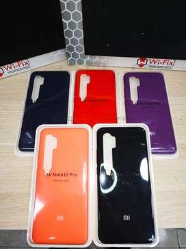 Silicone Case Original Xiaomi Note 10 pro