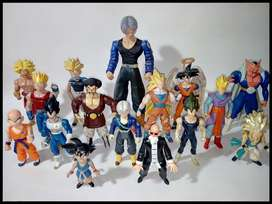 Figuras Originales Dragon ball, Vegeta, Mister Satan, Broly, Trunks, Dabura, Gohan, Gotenks, Krilin, Maestro Roshi.