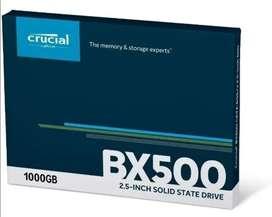 Disco duro SSD crucial BX 500 1 tb sata 2.5