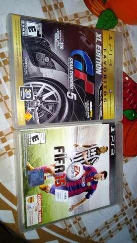 Vendo los 2 Fifa y GT