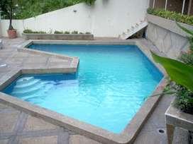 LOMAS DE URDESA VENDO DPTO. 240M2 -3 DORT. ESTUDIO piscina 130.000