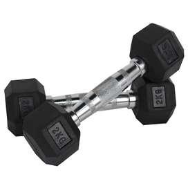 Mancuernas Encauchetadas Sportfitness 2kg