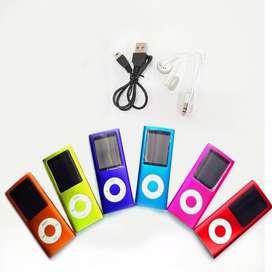 Reproductor Mp4 pantalla radio Mp3 Multimedia con audífonos oferta