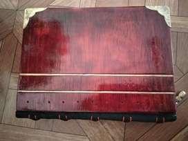 Cuaderno de lujo con tapas de madera