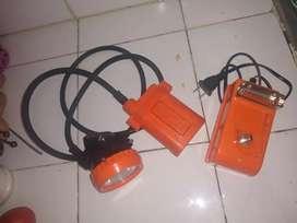Lámpara minera kl5 naranja