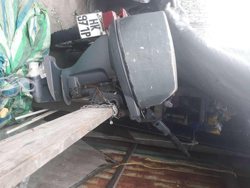 Motor yahama 15  4 tiempos+ trasamallo de 2 pulgadas y media + gps garmin 73 0