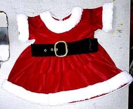 Vendo Vestido Navideño para Bebe 2 Meses