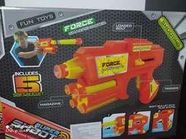 Pistola de dardos nuevos