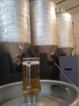 Fábrica de cerveza artesanal