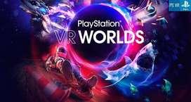 VR play station con camara y 3 juegods