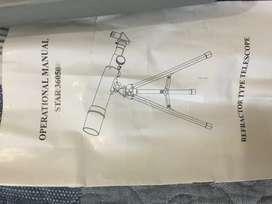 Telescopio Hokenn Hpr50600 refractor ideal para niños