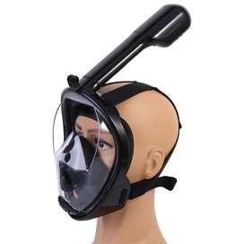 bre Mascara Careta Snorkel Panoramica Wonice Buceo Tapa Oídos Protección