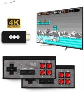 Consola de Juegos Retro 4K HDMI HD Incorporada 568 Videojuegos Clásicos