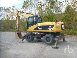 Excavadora Llantas Caterpillar M322d