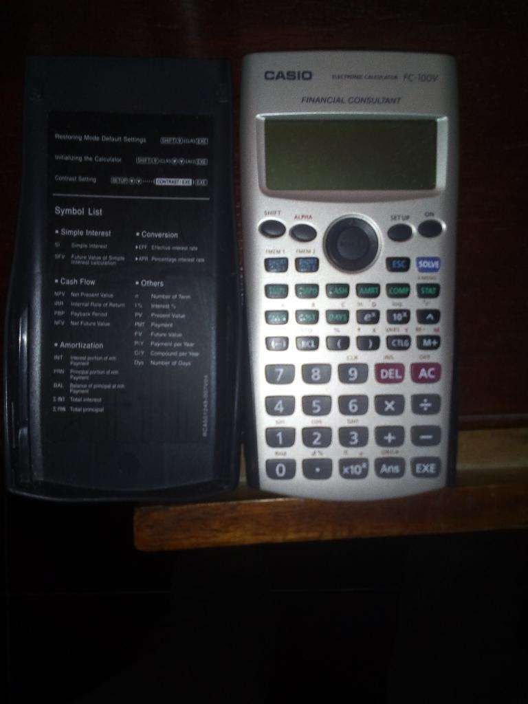 Calculadora Financiera 0