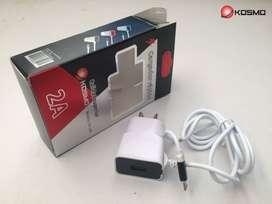 Cargador de pared Rapido 2A Kosmo para IPHONE entrada USB EXTRA