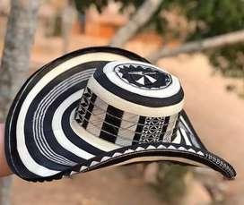 Sombreros vueltiao de tuchin fabricados con la fibra de la caña