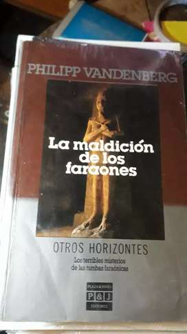 LA MALDICION DE LOS FARAONES (nuevo)