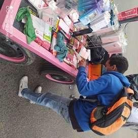 Vendedor de accesorios de celular
