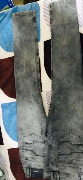 Pantalon color rata