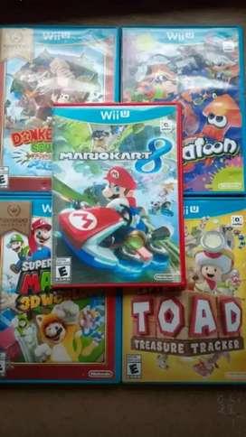 Juegos de Wii U originales