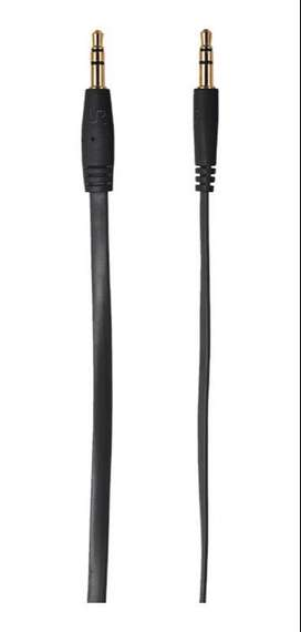 Cable Trust 3.5 Mm A 3.5 Mm 1Mtr Negro