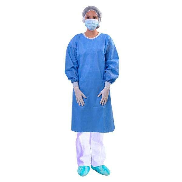 Bata desechable medica x10 unidades CLAY