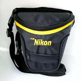 Estuche EN LONA ABULLONADO Para Nikon D3100 D5100 D3200 D3300 D5200 D5300 D5500