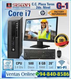 Computadora Core i7 - Importado - 8GB - 500GB