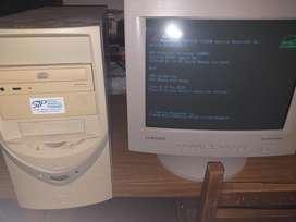 Computaroda Pc con Monitor
