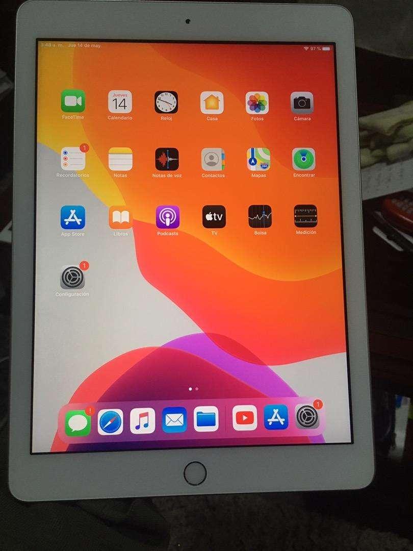 Ipad 5 de 32gb, como nueva en caja, libre de icloud 0
