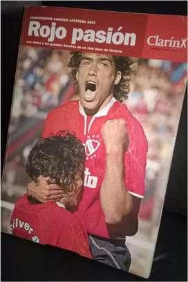 Rojo Pasión. Independiente Campeón 2002