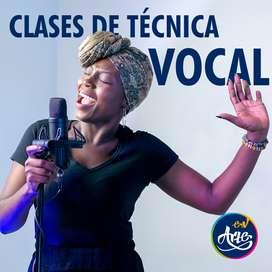 Clases de Canto o Técnica Vocal. Presencial y Online.