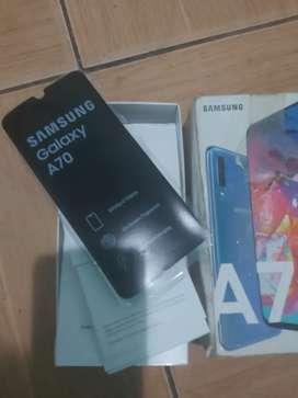 Samsung a70 libre sin detalles
